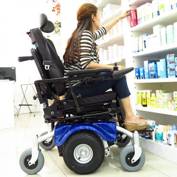 Asian power wheelchair